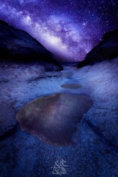 """✯ Reflection of the Milky Way - Saudi Arabia. """"The Midnight Beauty"""" An ancient sign of the nature gods that is casted into the sky the night before a tragic yet heroic battle. Beautiful World, Beautiful Places, Beautiful Pictures, All Nature, Amazing Nature, Tornados, Cosmos, Mother Earth, Mother Nature"""