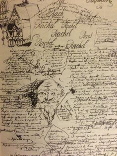 Page from Dostoevsky's notebook for Demons. In Dostoevsky: A Writer in His Times