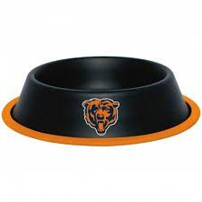 Chicago Bears Dog Bowl - Stainless