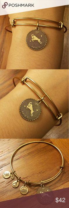 *RETIRED* Alex & Ani Rafaelian Gold Aries Bangle *RETIRED* Alex & Ani Rafaelian Gold Aries Bangle Alex & Ani Jewelry Bracelets