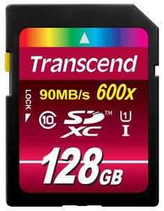 Transcend Ultimate-Speed SDXC Class 10 UHS-1 64GB