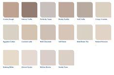Ideas Bedroom Colors Warm Paint Colours For 2019 Dulux Paint Colours Neutral, Bedroom Colour Schemes Warm, Warm Paint Colors, Warm Colour Palette, Bedroom Wall Colors, Paint Colors For Living Room, House Color Schemes, Paint Colors For Home, Dulux Paint Colours Hallways