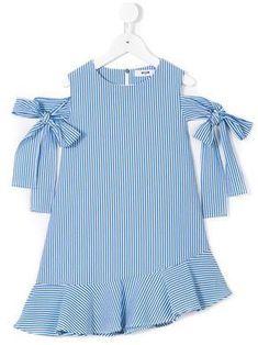Msgm Kids striped dress - #dress #Kids #Msgm #striped