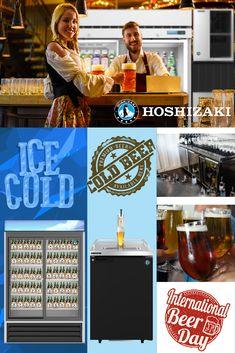 Sushi Case, International Beer Day, Ice Beer, Back Bar, Best Commercials, The Right Stuff, Restaurant Equipment, Great Restaurants, Best Beer