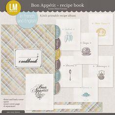 Bon Appetit - recipe book