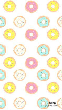 Free Iphone Wallpaper Donut