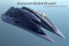 Kamerian Battle Cruiser by oigaitnas on DeviantArt