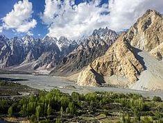 Passu / Hunza Valley, Pakistan Hunza Valley, Gilgit Baltistan, Afghanistan, Pakistan, Beautiful Places, Asia, Mountains, Corridor, World