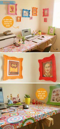 home office bom bonito e barato