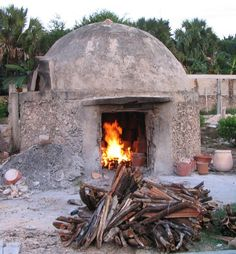 Old Wood Fired Pottery Kiln