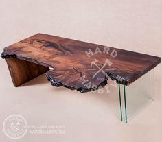 Table Kashtanoff. Live design! Table of heat-treated wood Mountain Chestnut with live edge . Original legs of glass and wood. Table dimensions: length 170, width 50, height 45 cm.| Стол Каштанофф. Живой дизайн! Стол из термообработанного дерева горный Каштан с живым краем. Оригинальные ноги из стекла и дерева. Размер стола: 170х50х45 см. #hardmassive #unusualtable #tablewood #tablewooddesign  #tableliveedge #tablewoodmetal  #столыиздерева #столизмассива #оригинальныестолы #столслэб
