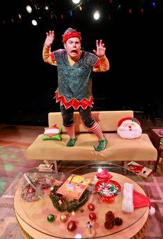jason parrish in 2013s production of the santaland diaries david sedaris diaries - David Sedaris Christmas