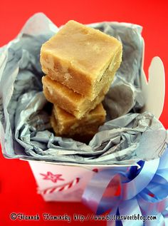 Maple fudge :D Oh man, that sounds so good right now...