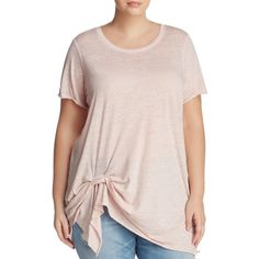 cbc8b869ac11c Marc New York Performance Plus Side Twist Tee ( 47) ❤ liked on Polyvore  featuring