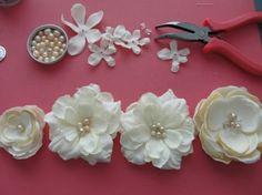 DYI Fabric Flowers