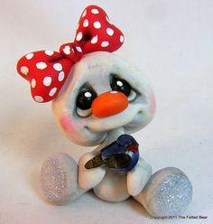 Cute little snow girl!