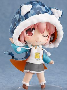 Super Sonico Tora Parka Ver. Cute Nendoroid Action Figure Collectible Model Toy Free Shipping