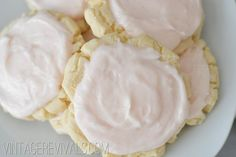 The World's Best Sugar Cookies - Swig Sugar Cookies - put less salt in frosting though