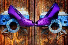 royal purple heels