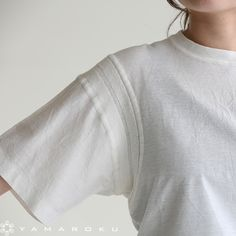 Could be an interesting sweater detail Sport Fashion, Love Fashion, Womens Fashion, Sleeve Designs, Shirt Designs, Fashion Details, Fashion Design, Cool Tees, Diy Clothes