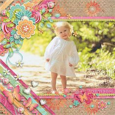 Page made by Conny using Paper Play #17 | Templates by Akizo Designs (Digital Scrapbooking layout)