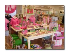 The Pink Crab, a Lilly Pulitzer store in Annapolis!