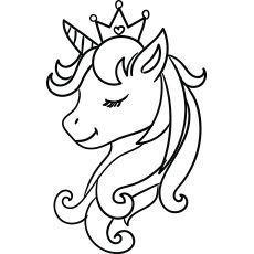 Top 50 Unicorn Coloring Pages For Toddlers 50freeprintables Top 50 Free Printable Unicorn Coloring Pages Onli Einhorn Kunst Einhorn Malen Einhorn Zum Ausmalen