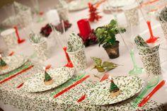 """Navidad del 2011 """"Decorando la mesa con Muerdago"""""""