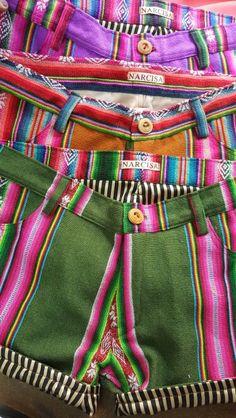 Shorts de aguayo