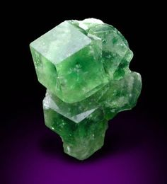 Grossular Garnet (chrome-rich) - Jeffrey Mine, Asbestos, Québec, Canada