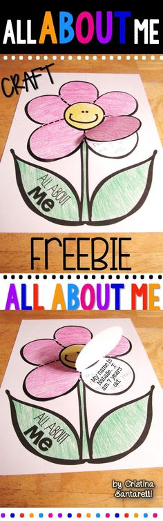 All About Me FREEBIE!  Looking for a simple, fun, activity to get to know your littles?  To get ready for the new school year, we are sharing our latest FREEBIE!    Click on the image to grab your Freebie!