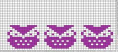 Tricksy Knitter Charts: owley (74611) by JAT