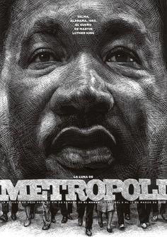 Metrópoli y Luther King por Ricardo Martínez