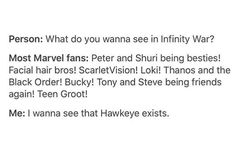 Actually I mostly want to see cus, well..... Bucky Barns... *i love him*... But Clint is cool too