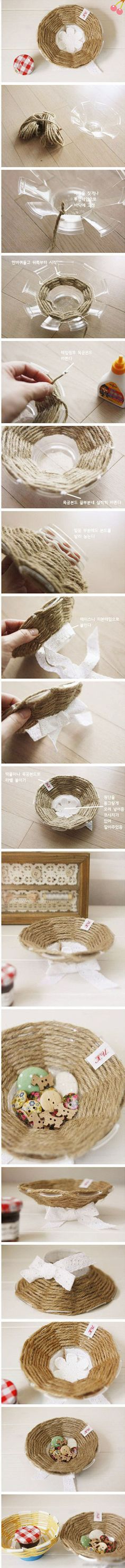 Diy Beautiful Basket | Click to see More DIY & Crafts Tutorials on Our Site.