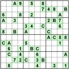 Number Logic Puzzles: 24418 - Sudoku size 12