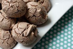 Chocolate Meringue Cookies!!