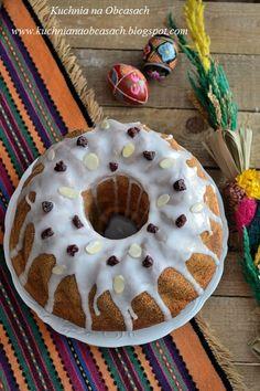 kuchnia na obcasach: Wielkanocna baba drożdżowa