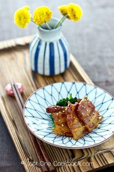 Honey Pork Belly | @Nami Kim | Just One Cookbook
