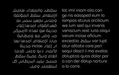 Fikra's bilingual — Arabic and English — display typeface.