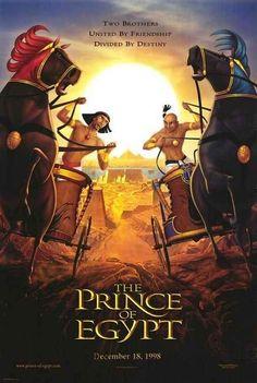 Prince of Egypt - Movie Posters Family Movie Night, Family Movies, Film D'animation, Film Movie, Films Chrétiens, Egypt Movie, The Bible Movie, Prince Of Egypt, Christian Films