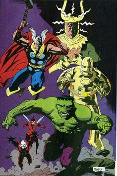 História que deu origem aos Vingadores.