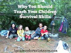 Why you should teach your children survival skills