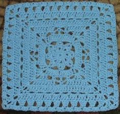 Ravelry: Winter Dream 12 inch square pattern by April Moreland
