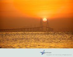 석산곶 일출, Sun Rising  by Alex KIM, via 500px