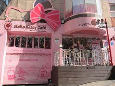 Y aunque no pediría un café de Hello Kitty Cafe (Corea del Sur), si iría a conocer! (^^)/