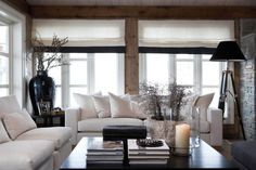Living room design guide: A great home design tip is going to be consistent with how you're designing a location. You need a solid theme of your respective design will mesh together. Living Room Interior, Home Living Room, Living Room Designs, Living Room Decor, Living Spaces, Cottage Living, Cozy Living, Simple Living, Modern Living