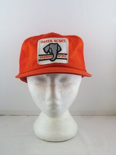 20e3f73ed7e Vintage Patched Trucker Hat - Elephant Brand Fertilizer - Adult Snapback  Vintage Trucker Hats