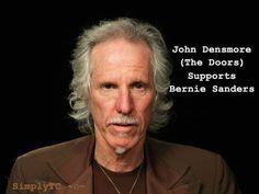 John Densmore of The Doors endorses Bernie Sanders! #Bernie2016 #feelthebern