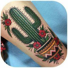 Cactus tattoo <3 <3 <3